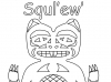 beaver-squlew-outline