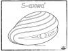 clam-s-axwa-outline