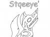wolf-stqeeye-outline