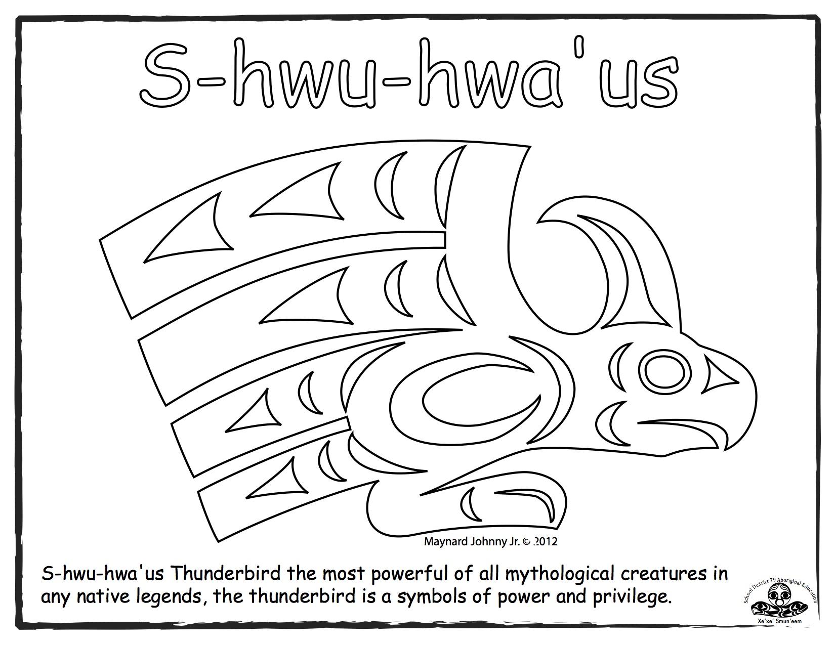thunderbird-s-hwu-hwaus-outline