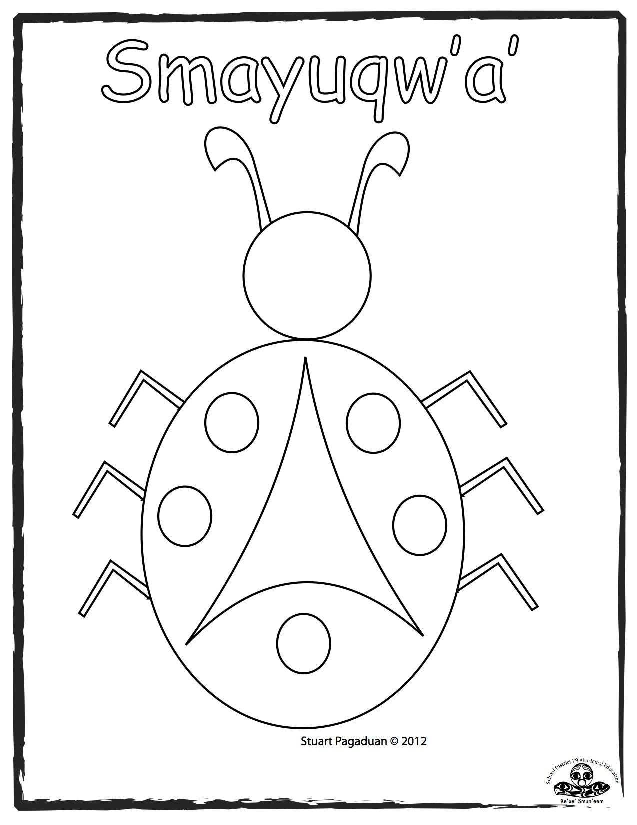 ladybug-smayuqwa-basic-outline