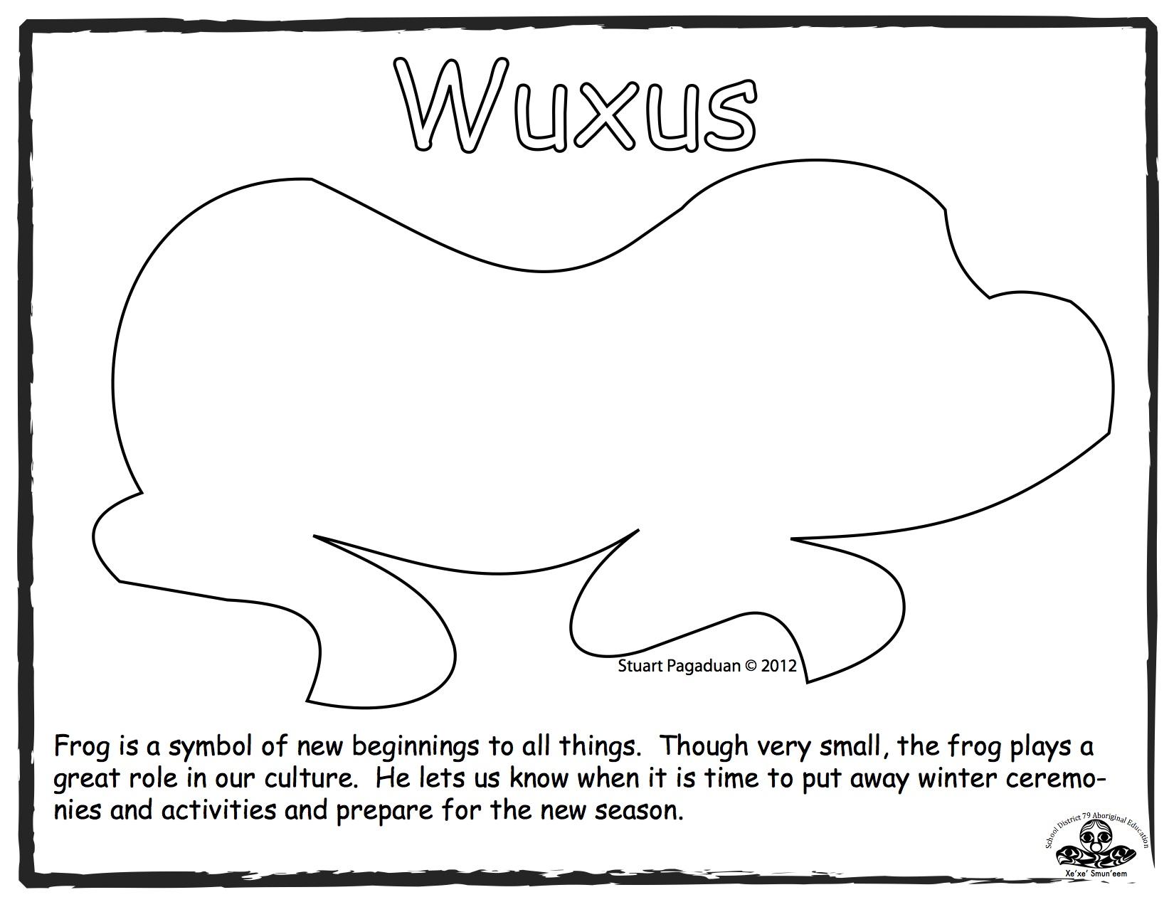 frog-wuxus-outline